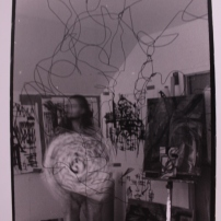 Self Portrait with Drawings