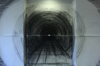 Tunnel, charcoal
