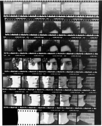 Self-Portrait Contact Sheet